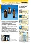 Aluminium Lock nut cylinders - Single Acting