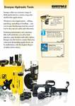 Hydraulic tools overview